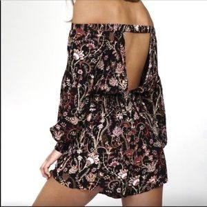 Free People Off The Shoulder Romper XS/ TP